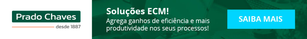 """Banner para download do e-book """"O ECM não é só uma tecnologia ou metodologia!"""""""